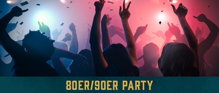 Grafik 80er & 90er Party